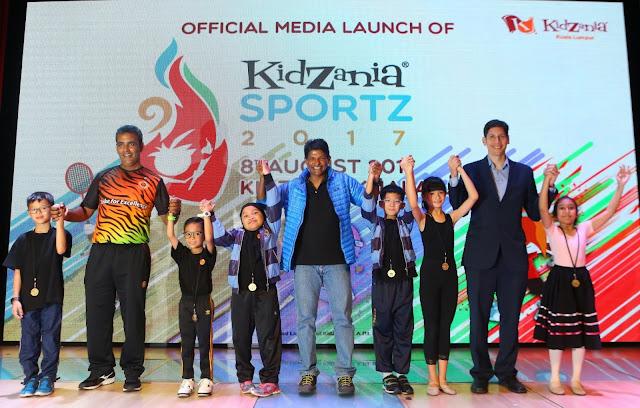 KidZania SportZ 2017 - Pengalaman Anak di KidZania Sebagai Atlet Sempena Sukan SEA ke 29