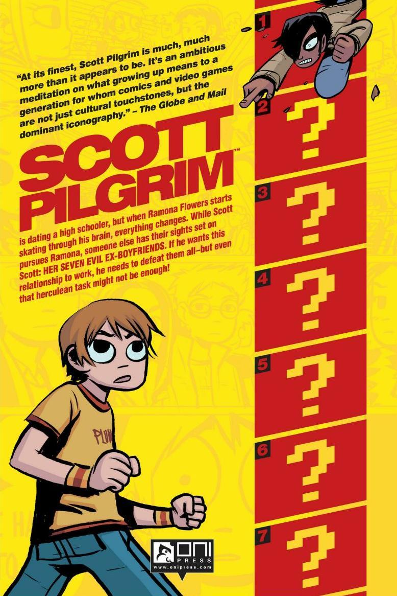 Read online Scott Pilgrim comic -  Issue #1 - 176