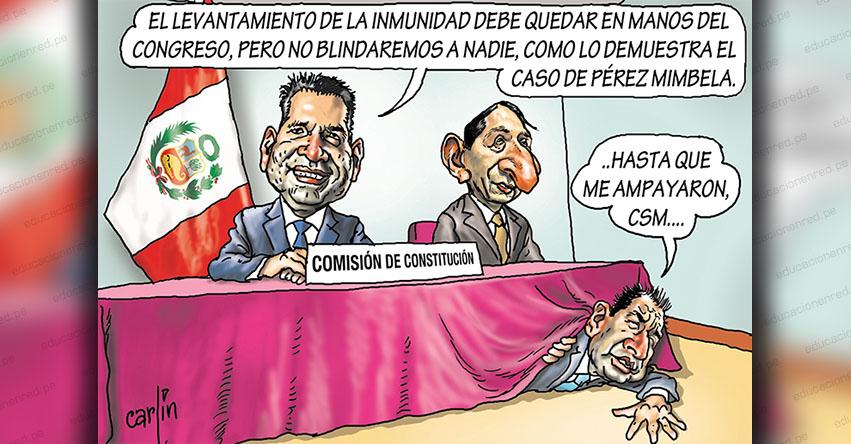 Carlincaturas Lunes 10 Agosto 2020 - La República
