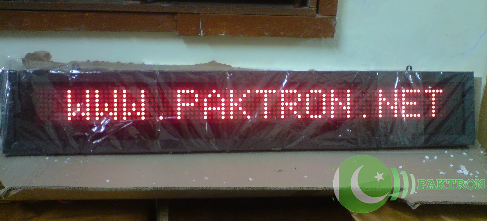 Buy Led Moving Message Display Board In Pakistan Paktron