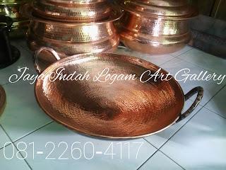 Kerajinan Wajan Tembaga - pusat supplier kerajinan tembaga dan kuningan - produk wajan tembaga