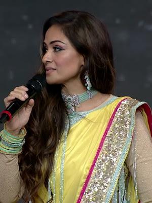 Actress Simran beautiful stills at master audio launch