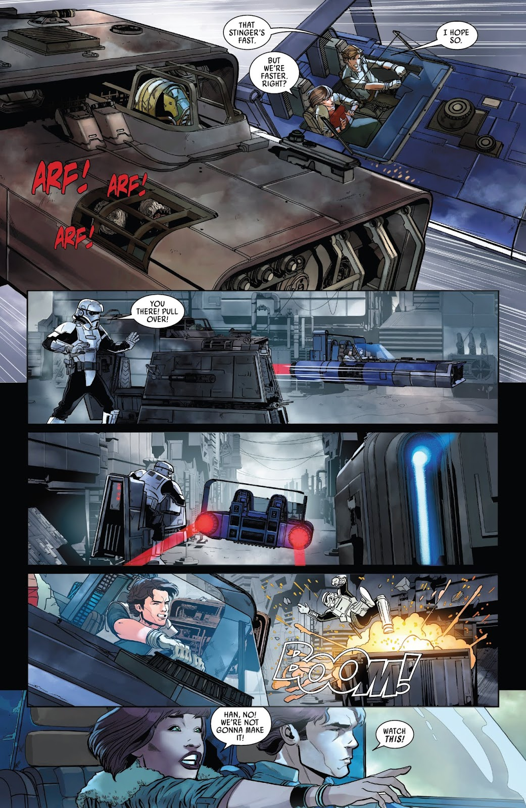Read online Solo: A Star Wars Story Adaptation comic -  Issue #1 - 14