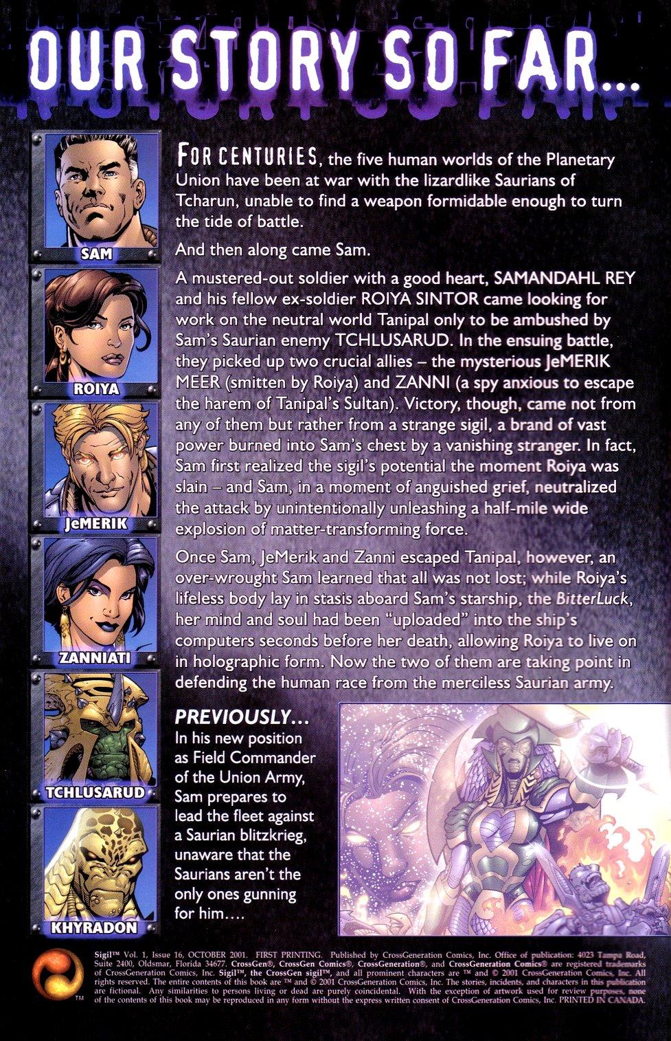 Read online Sigil (2000) comic -  Issue #16 - 2