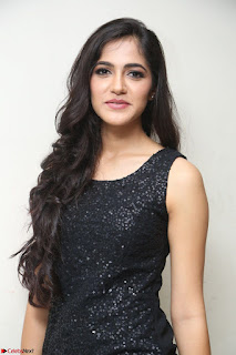 Simran Chowdary Model in Beautiful Black Dress at FBB Miss India 2017 finalists at Telangana auditions (42).JPG