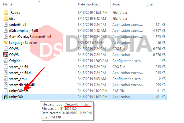 cara cepat uninstall aplikasi windows