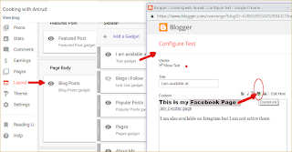 How widgets affect a blog on Blogger platform?