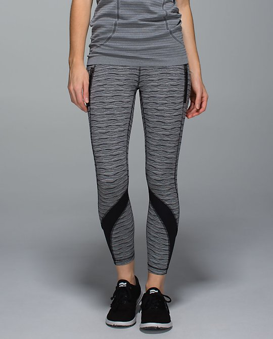 lululemon textured wave inspire tight front