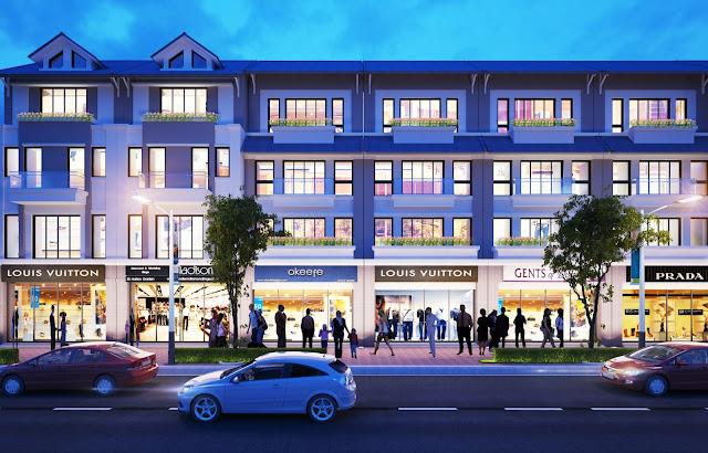 Mẫu thiết kế Liền kề shophouse The Green Daisy
