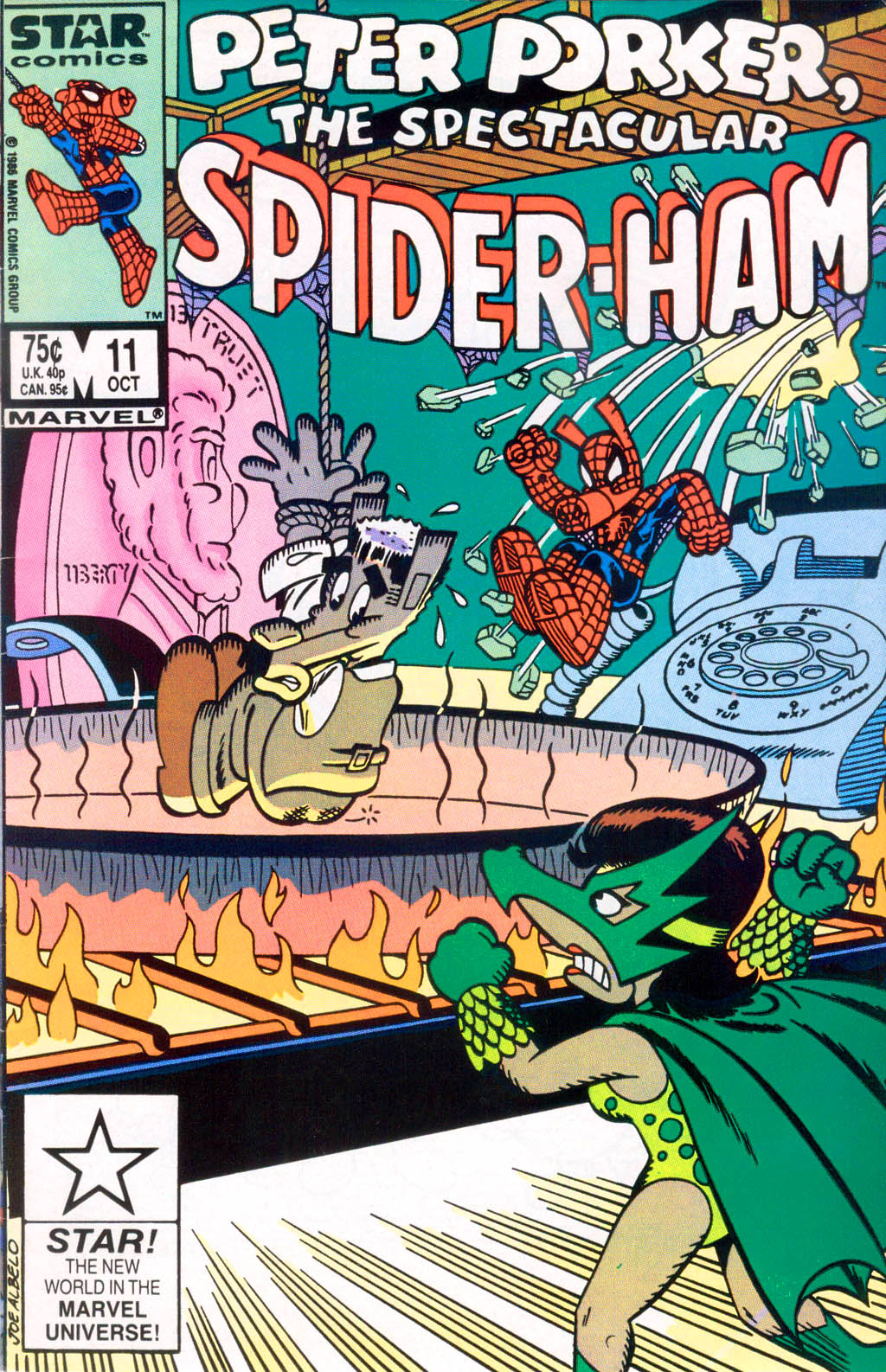 Peter Porker, The Spectacular Spider-Ham issue 11 - Page 1