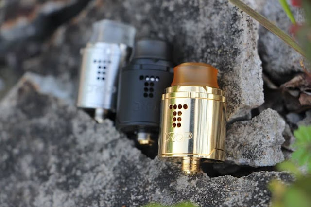 Digiflavor DROP SOLO RDA Rebuildable Dripping Atomizer Review