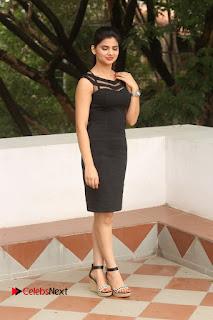 Actress Kamna Ranwat  Pictures in Black Short Dress at Selfie Raja Interview  0305
