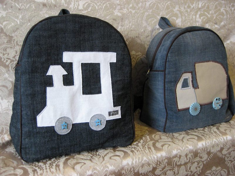 756d24b30f The Train Backpack is size L and the Dump Truck Backpack is size S (only  available upon request)