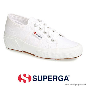 Kate Middleton wore Superga Linea Wedge Sneaker