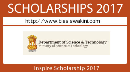 Inspire Scholarship 2017