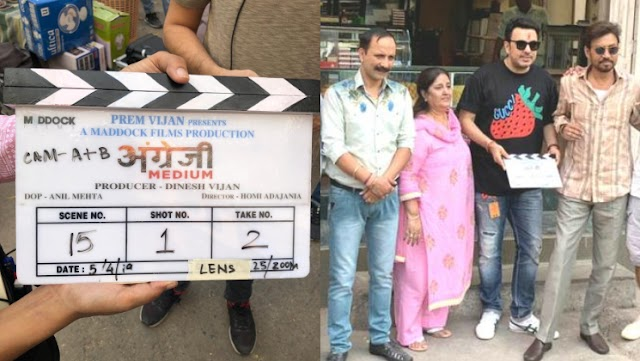 Irrfan Khan begins shooting come again