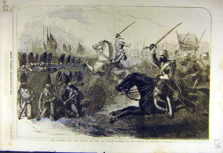Image result for ANGLO PERSIAN WAR 1856-1857 AT KOOSHAB