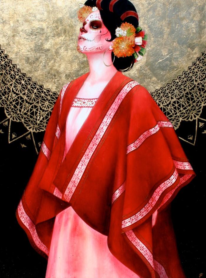 Современная художница. Sylvia Ji 5