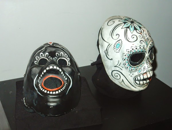 Savages Day of the Dead masks
