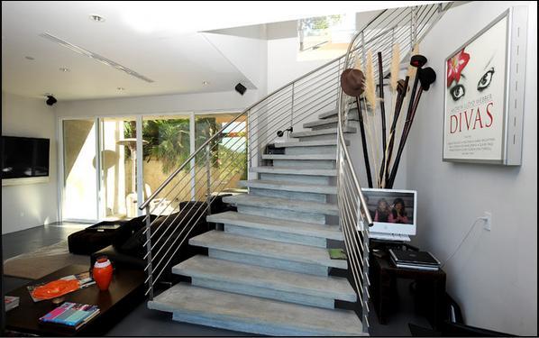 tipos de escaleras de concreto