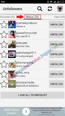 Aplikasi Untuk Mengetahui Unfollower di Instagram | Cek Unfollowers