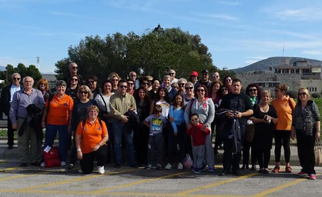 Στο Ναύπλιο οι Εθελοντές Πολιτικής Προστασίας Νέας Φιλαδέλφειας