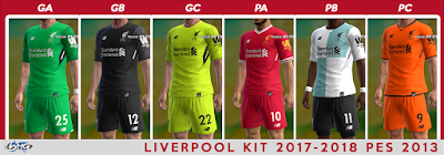 PES 2013 Premier League Kitpack Update Season 2017/2018