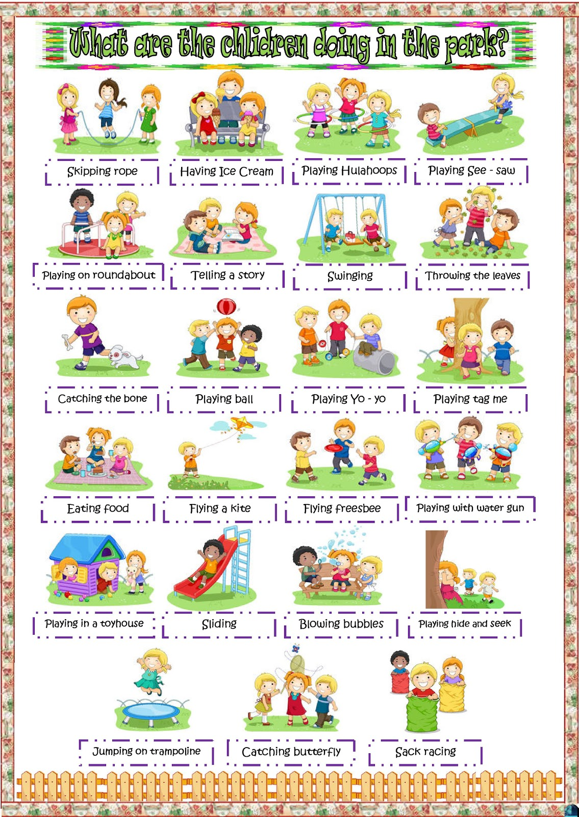 Park Worksheet For Kindergarten Park Best Free Printable Worksheets