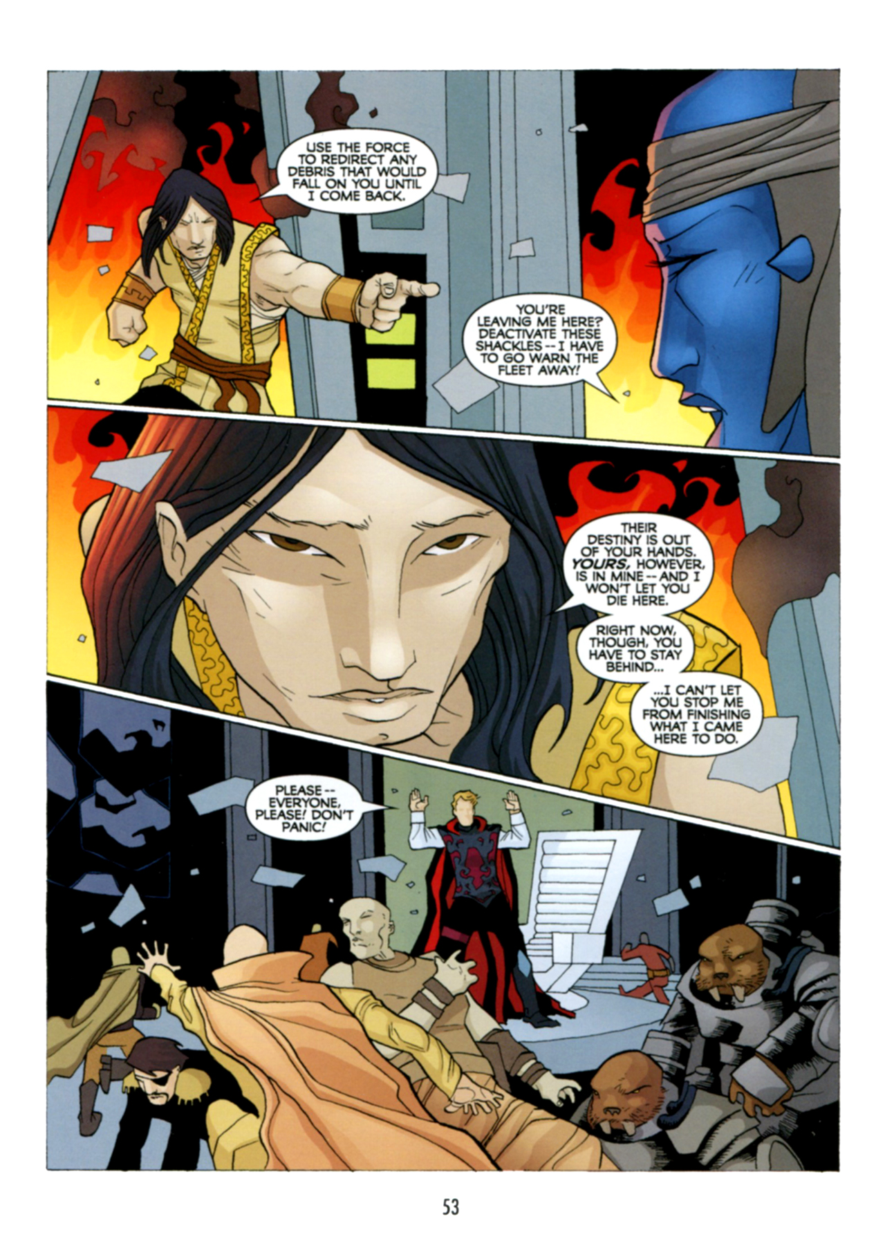 Read online Star Wars: The Clone Wars - Deadly Hands of Shon-Ju comic -  Issue # Full - 54