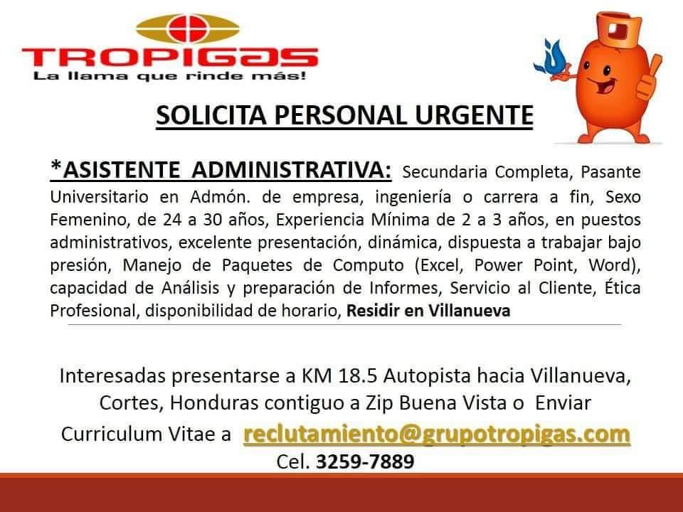 Trabajos en Honduras 2017