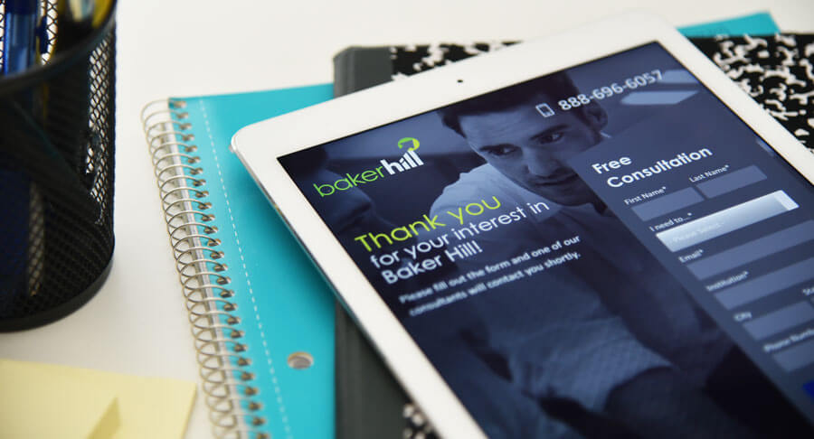 Baker Hill Responsive Web Design Case Study