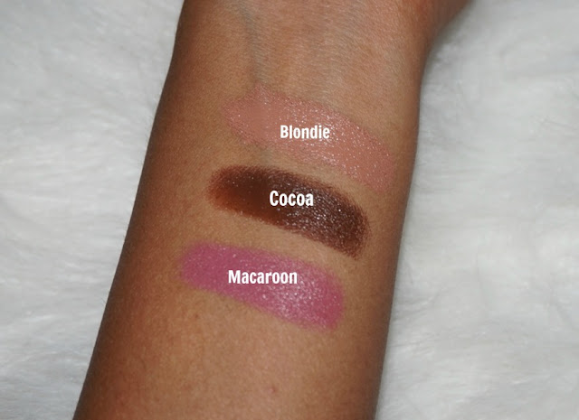 bite beauty multisticks cocoa blondie macaroon swatches nc42
