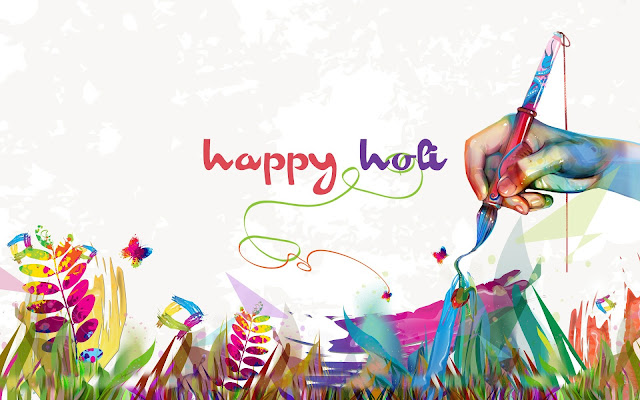 Happy Holi 2017 Hd Wallpaper
