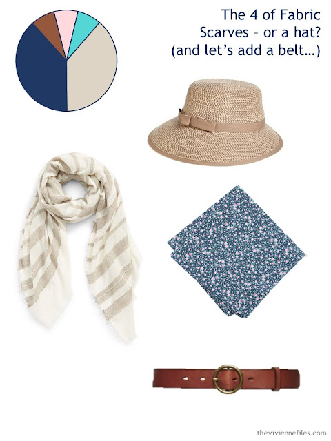 Adding a hat, scarves and a belt to a 6 by 4 Accessory Wardrobe