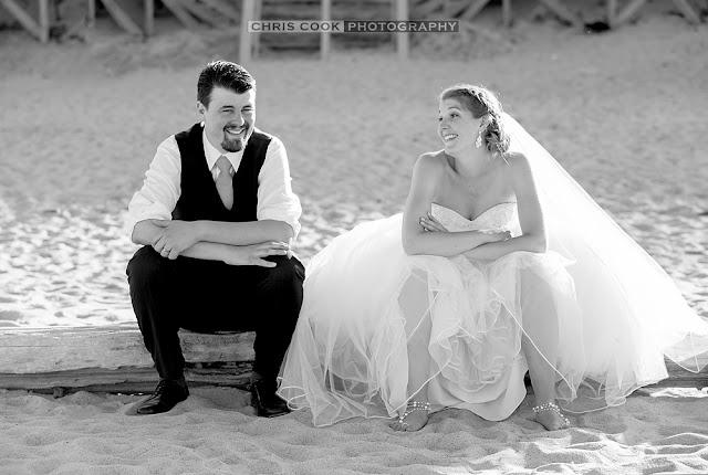 Cape Cod wedding blog photo from Chris Cook Photography about Heather & Matt sneak peek – Marconi Beach