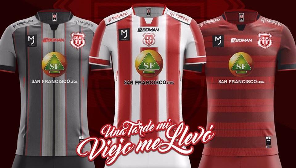 c906bc586d Boman Sport divulga as novas camisas do Técnico Universitario - Show ...