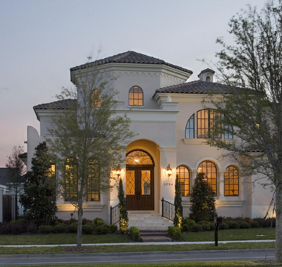 Mediterranean Tuscan Style Home House: Fairwillaimbig: July 2011
