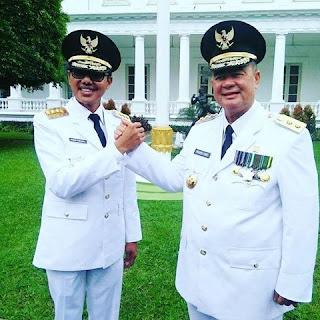 Satu Tahun Kepemimpinan Irwan Prayitno-Nasrul Abit