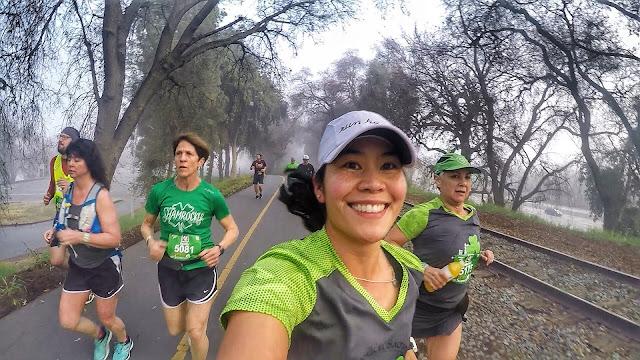 Running Shamrock'n Half Marathon
