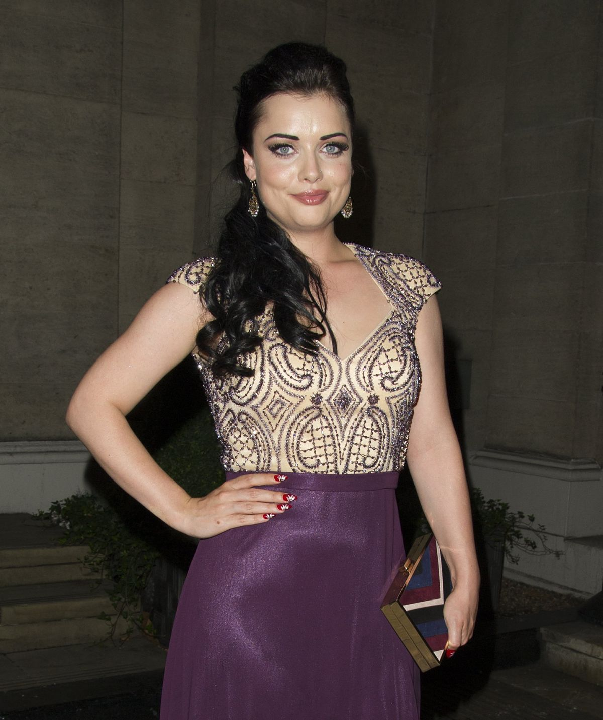 HQ Photos of 'East Enders' actress Shona Mcgarty At 2016 Animal Hero Awards In London
