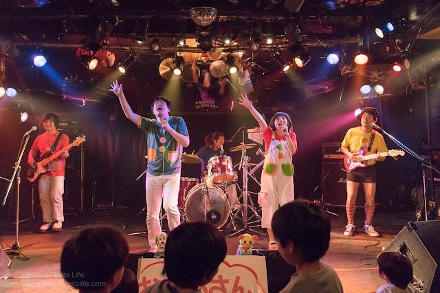 シルエレゆき birthday 企画ライブのおかさんといっしょのコピーバンドの写真2枚目