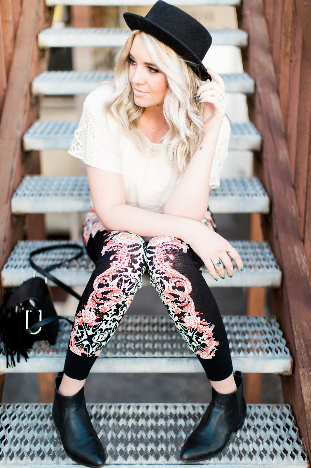 Utah Fashion Blogger, Spring Outfit, Fedora