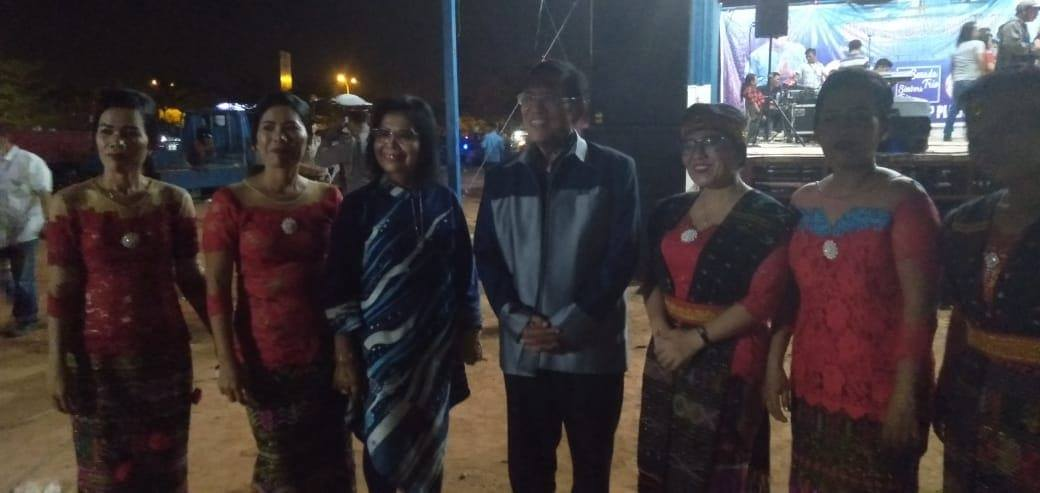 Pesta Budaya Rakyat Bersama Djasarmen Purba Dengan Masyarakat Sagulung dan Batu Aji