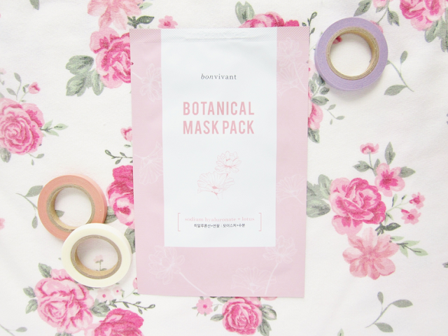 Bonvivant Botanical Pure Mask Packs Review