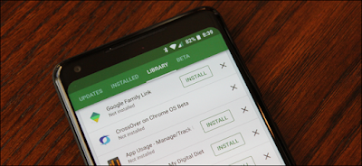 List of Apps You've Installed from Google Play Store