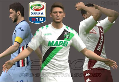 PES 2016 SERIE A TIM Kits Pack 16/17 Final Version by GgBlues