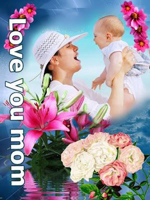Gambar Background Bunga Untuk Ibu love you mom