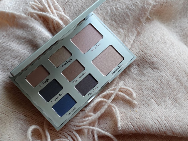 Cargo Eye Contour Eye Shadow Palette Warmer Base 2
