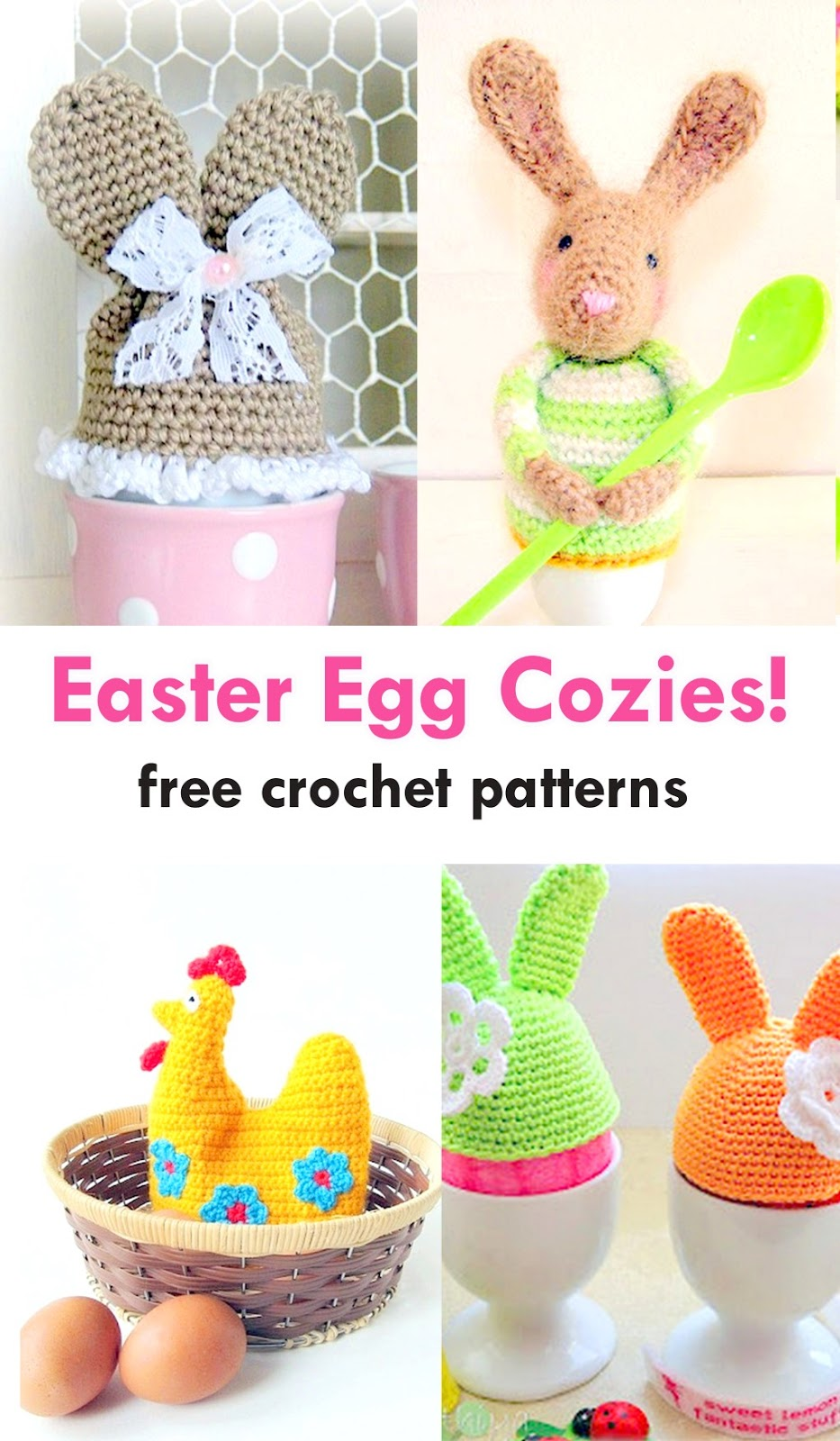AmVaBe Crochet: Easter Egg Cozies: Free Crochet Patterns!