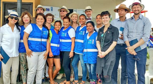 La Unión Europea apoya la reconstrucción de las áreas afectadas por el terremoto